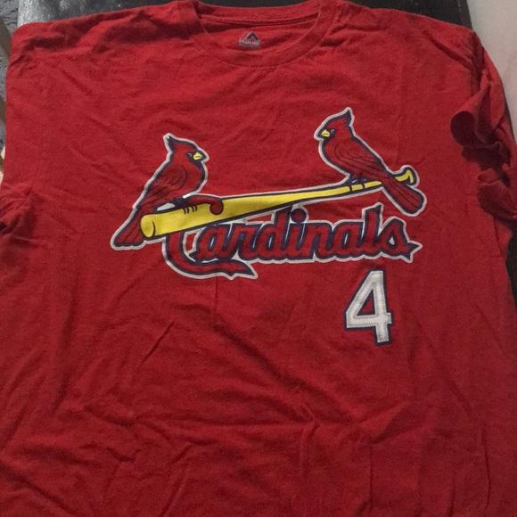 new product d04f9 35ad4 St Louis Cardinals Yadier Molina T Shirt